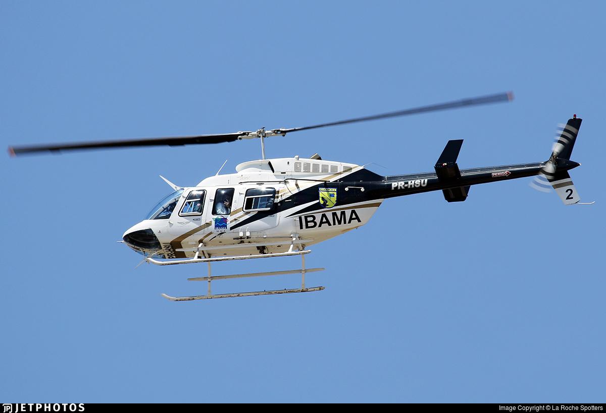 PR-HSU - Bell 206L-3 LongRanger - Brazil - Instituto Brasileiro do Meio Ambiente (IBAMA)