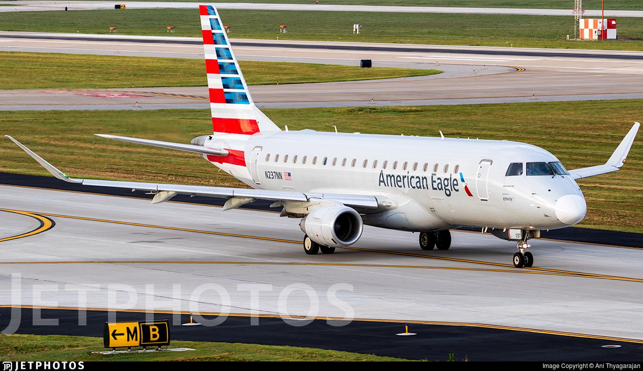 N237NN - Embraer 170-200LR - American Eagle (Envoy Air)