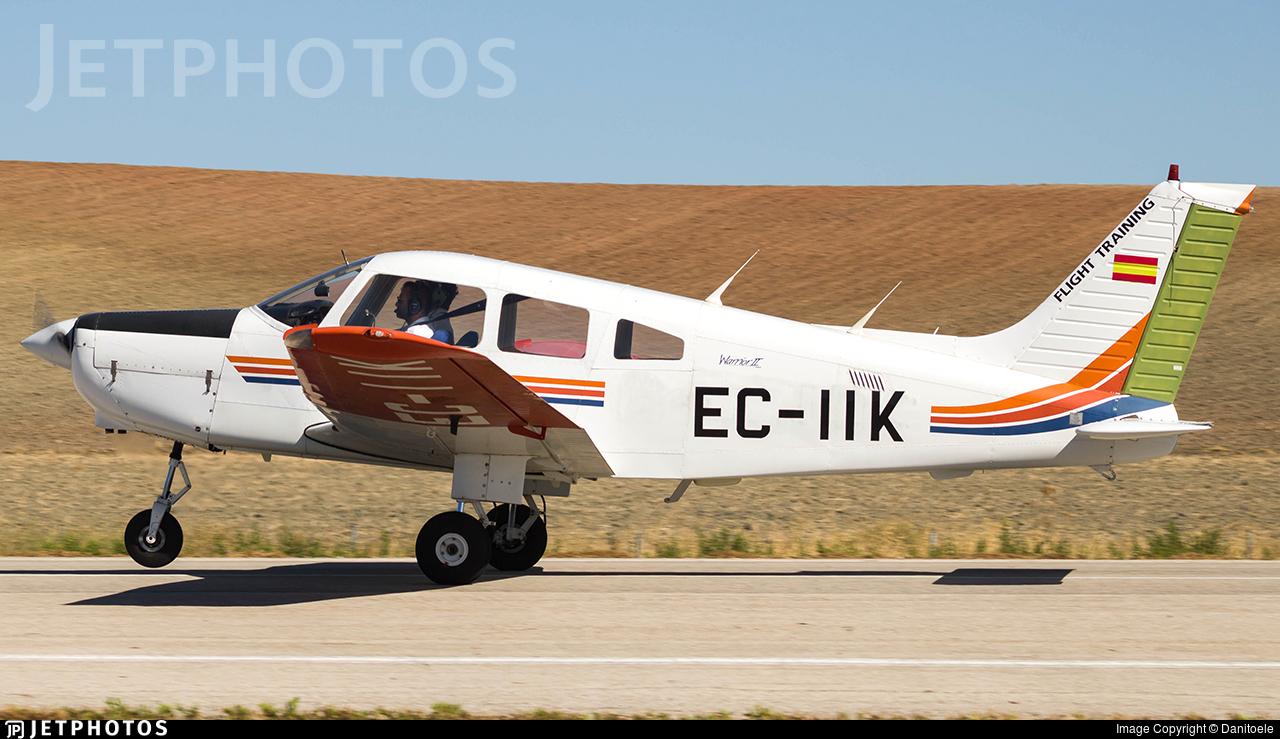 EC-IIK - Piper PA-28-161 Warrior II - FTE Jerez