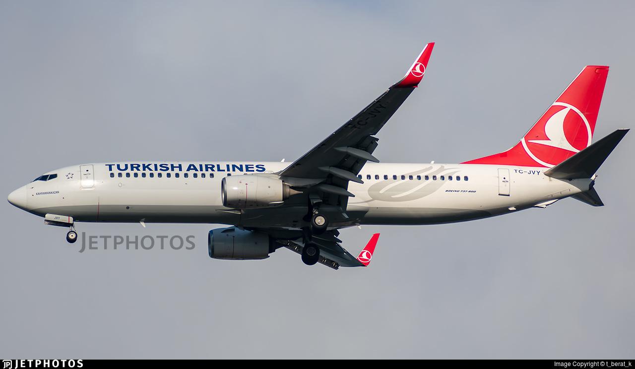 TC-JVY - Boeing 737-8F2 - Turkish Airlines
