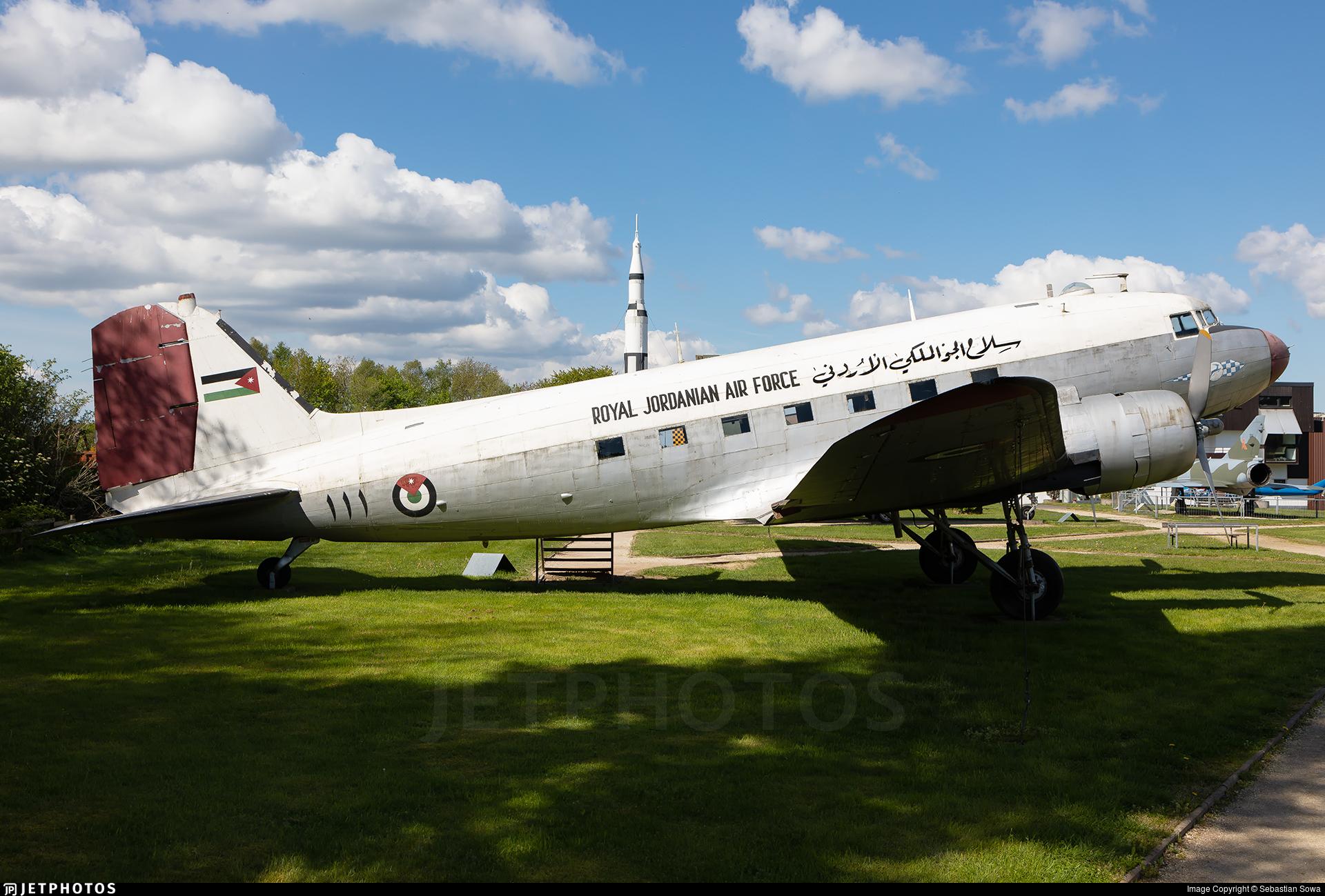 111 - Douglas C-47A Skytrain - Jordan - Air Force