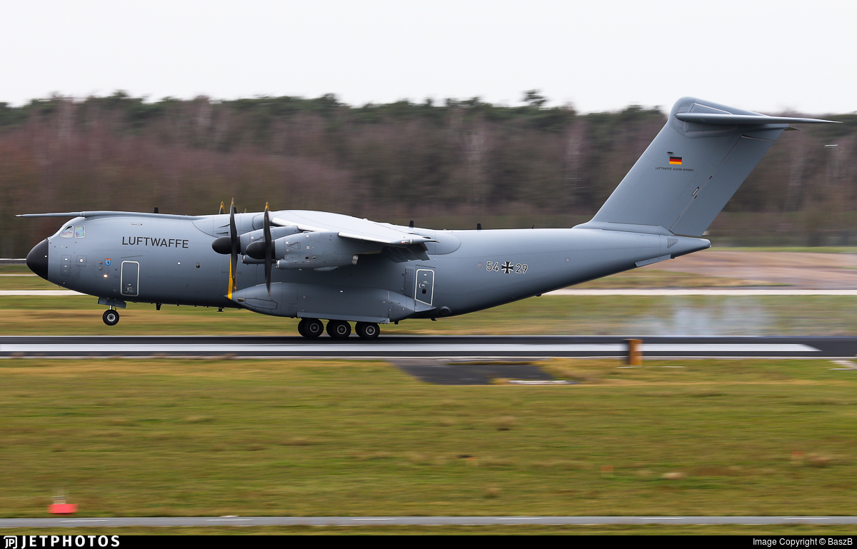54-29 - Airbus A400M - Germany - Air Force