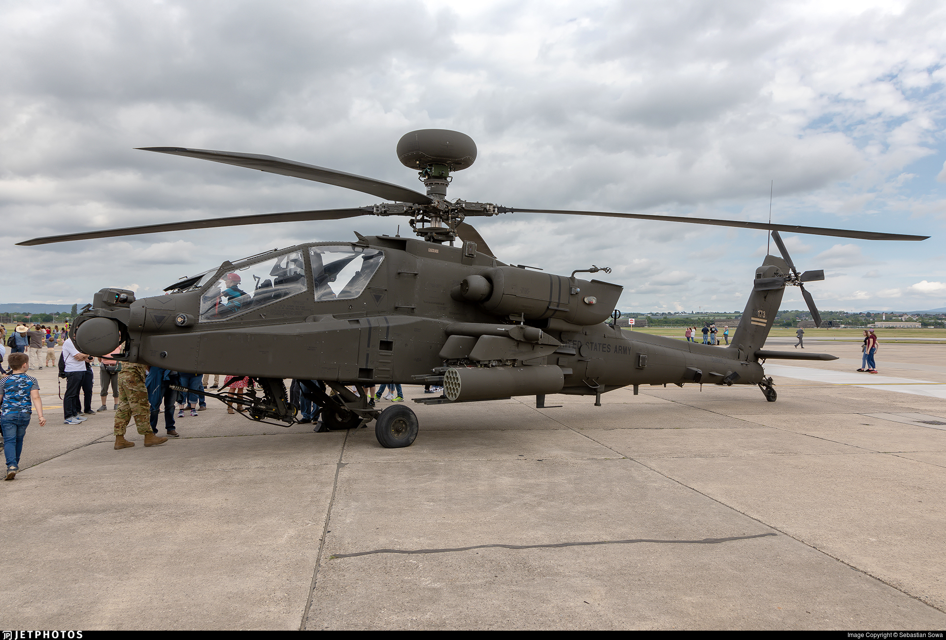 17-03173 - Boeing AH-64E Apache Guardian - United States - US Army