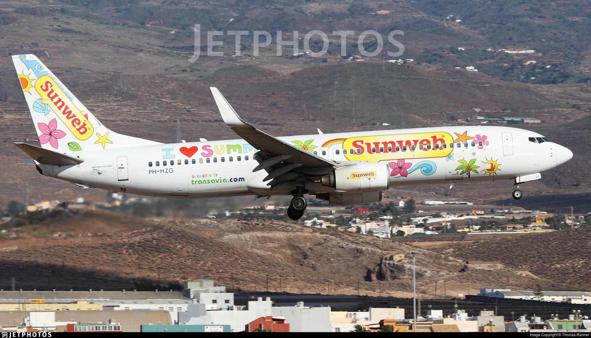 PH-HZG - Boeing 737-8K2 - Transavia Airlines