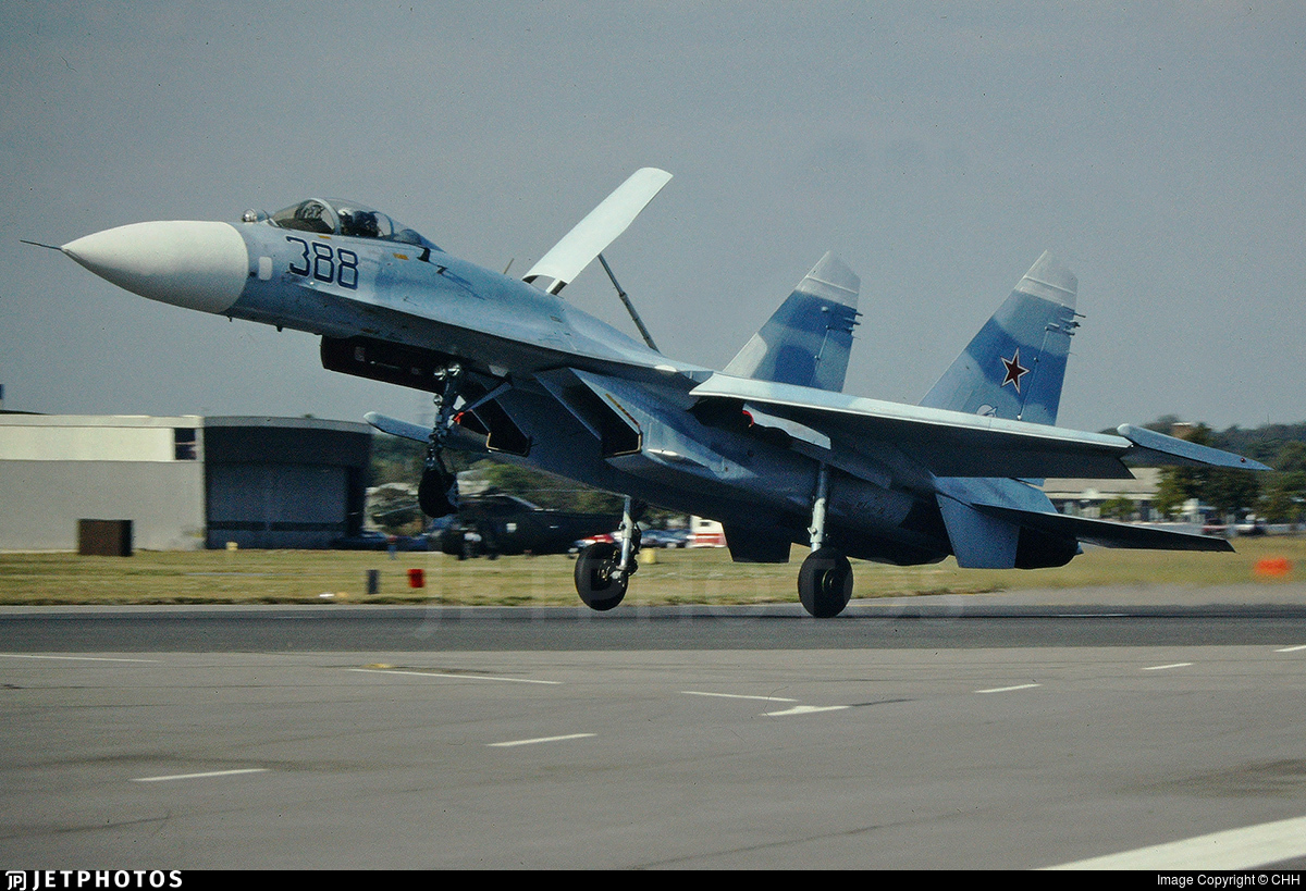 388 - Sukhoi Su-27 Flanker - Soviet Union - Air Force