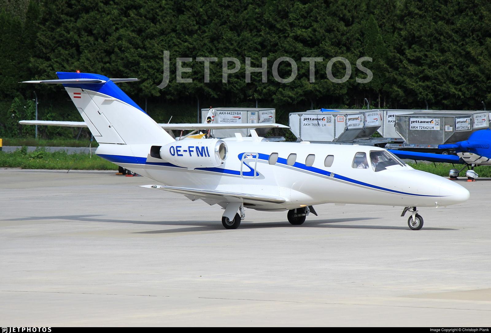 OE-FMI - Cessna 525 CitationJet 1 - ABC Bedarfsflug