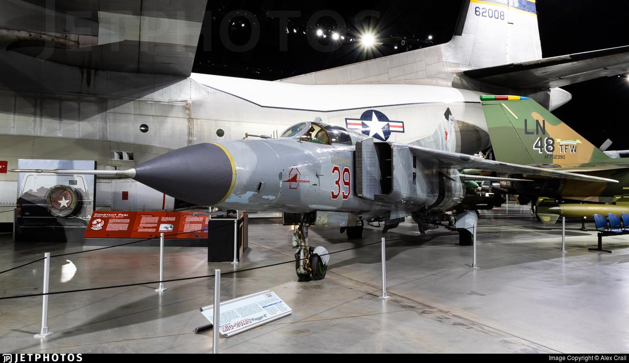39 - Mikoyan-Gurevich MiG-23 Flogger - Soviet Union - Air Force