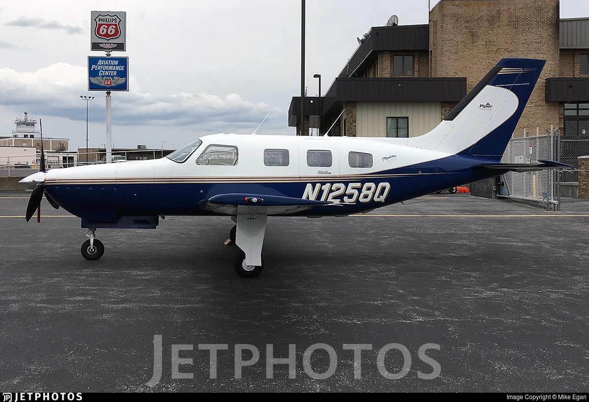 N1258Q - Piper PA-46-350P Malibu Mirage - Private