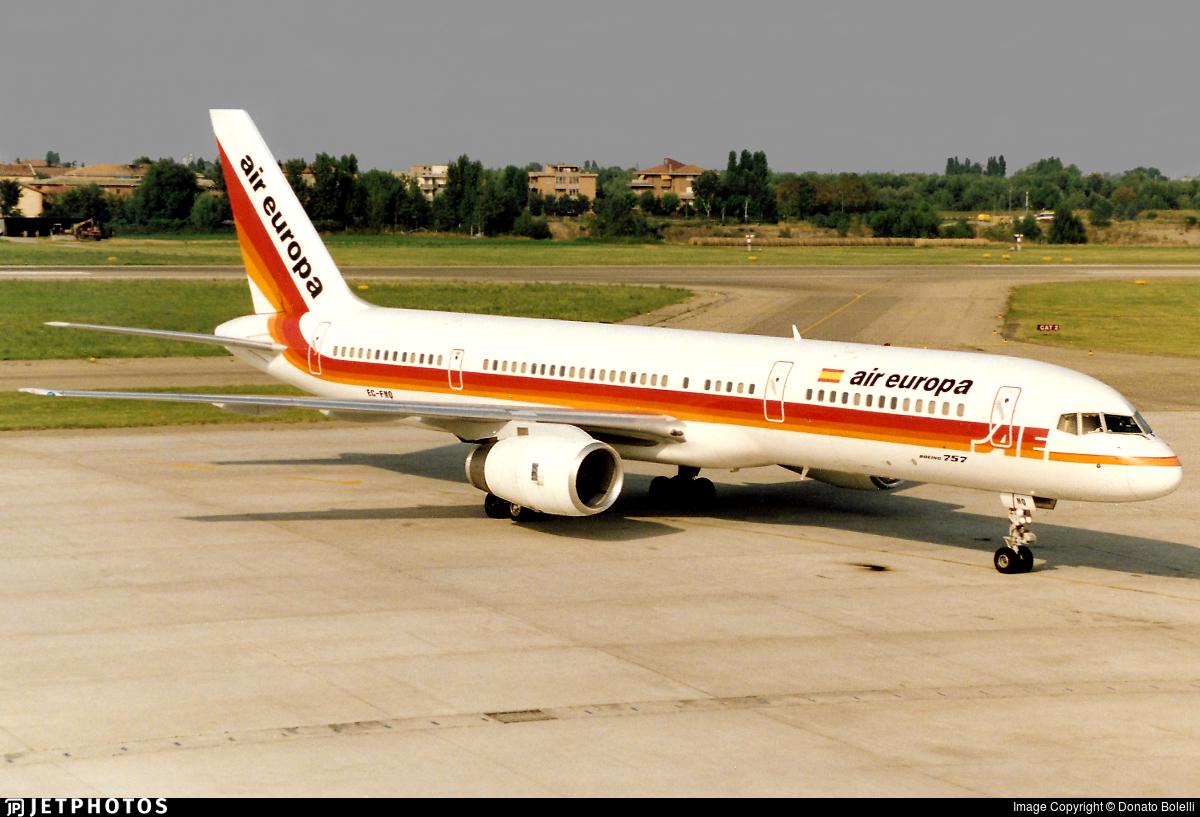 EC-FMQ - Boeing 757-236 - Air Europa