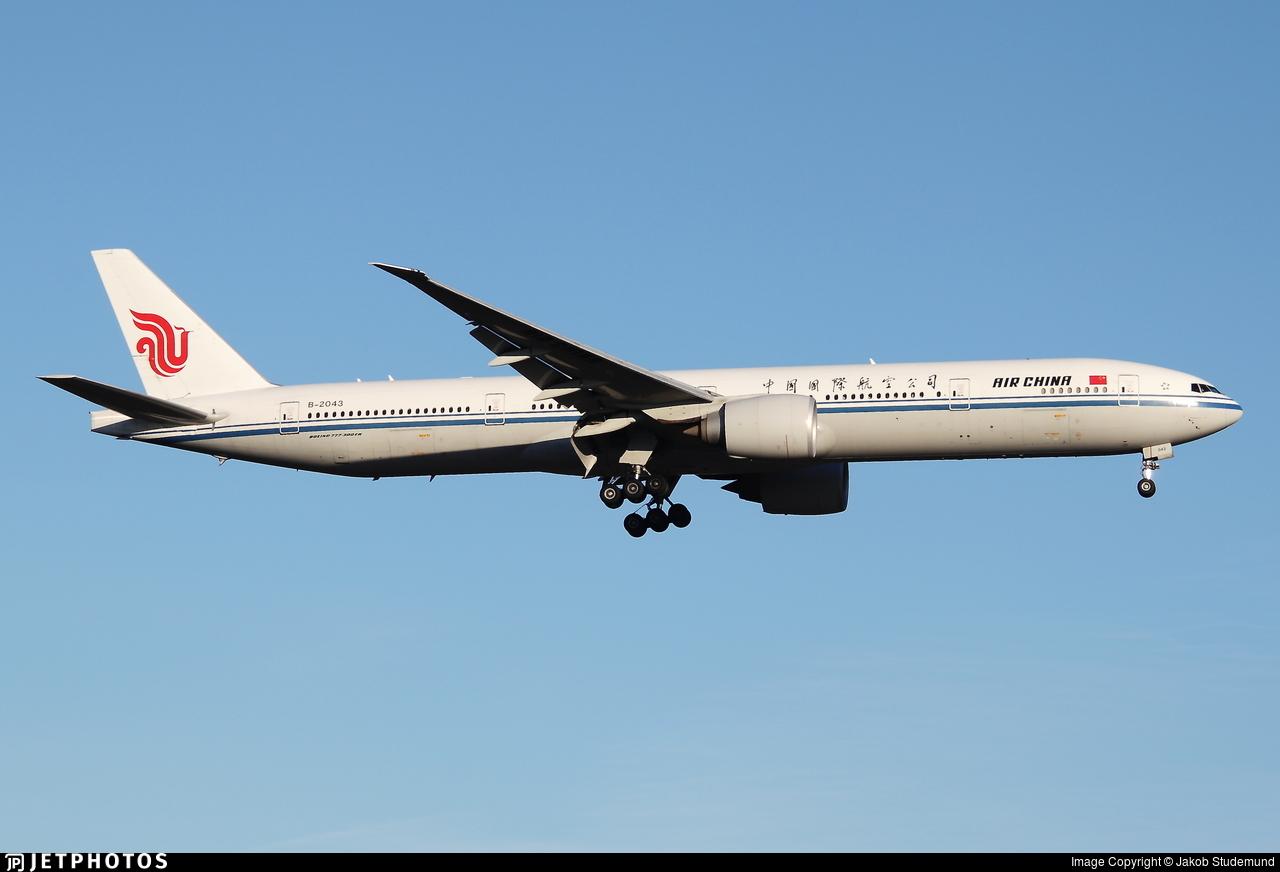 B-2043 - Boeing 777-39LER - Air China