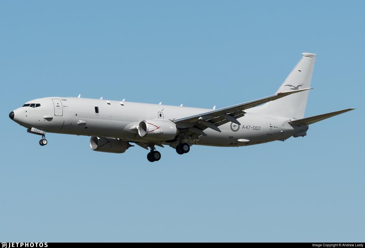 A47-007 - Boeing P-8A Poseidon - Australia - Royal Australian Air Force (RAAF)