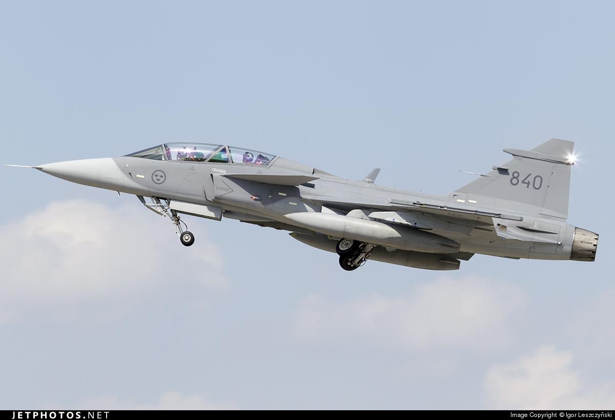 39840 - Saab JAS-39D Gripen - Sweden - Air Force