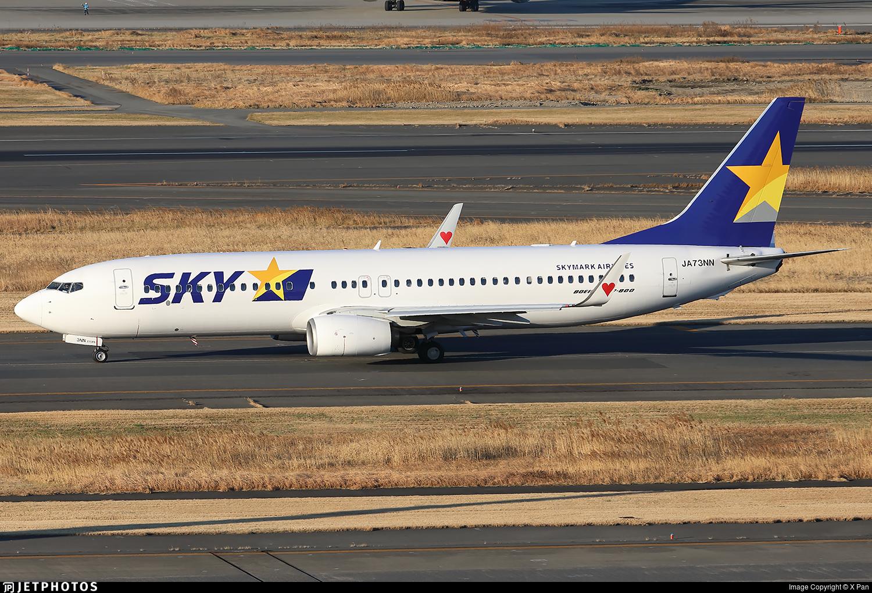 JA73NN - Boeing 737-81D - Skymark Airlines