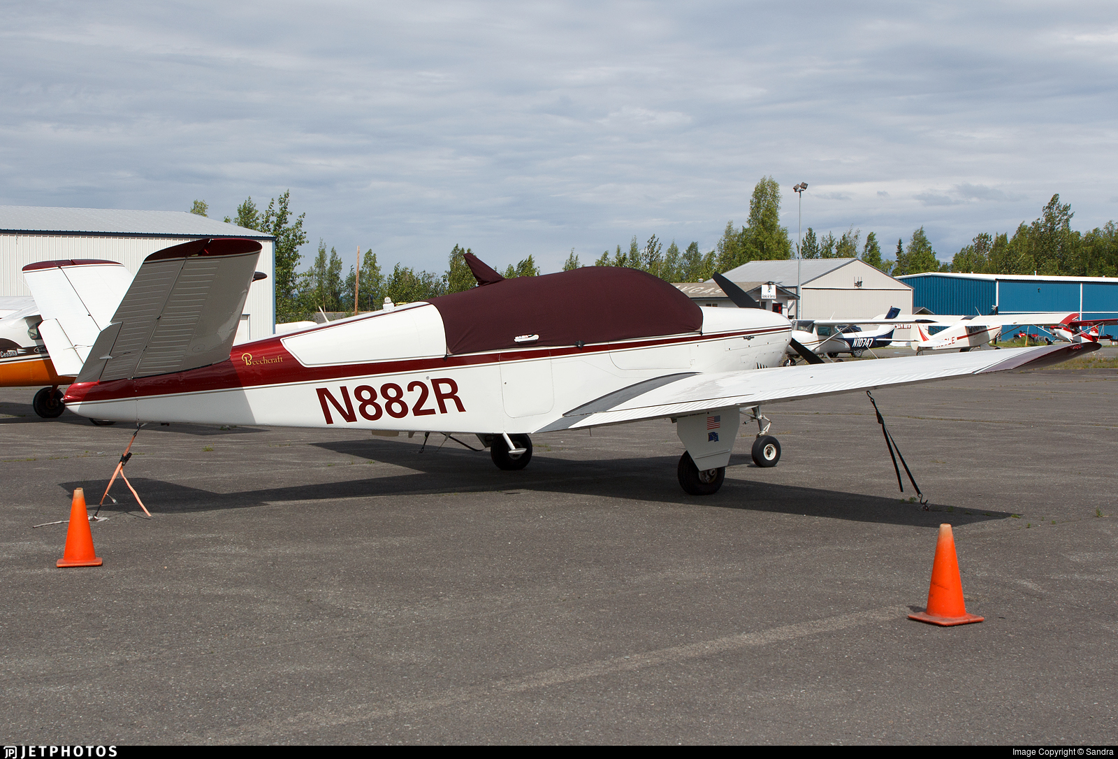 N882R | Beechcraft M35 Bonanza | Private | Sandra | JetPhotos