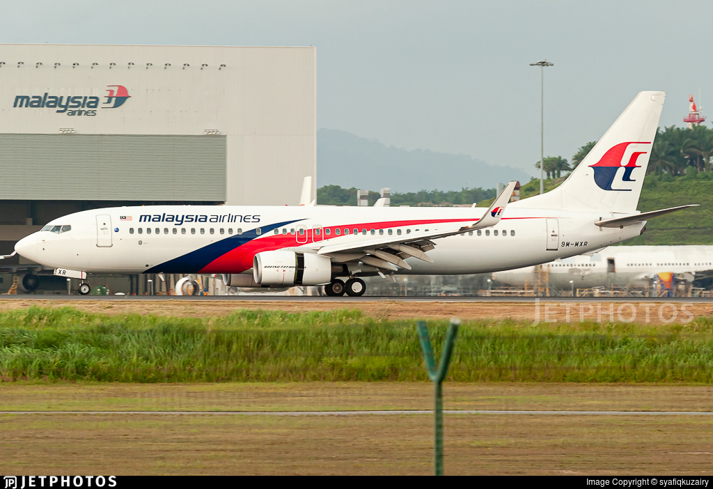 9M-MXR - Boeing 737-8H6 - Malaysia Airlines