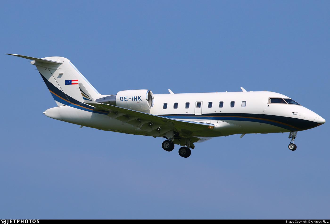OE-INK - Bombardier CL-600-2B16 Challenger 605 - Transair