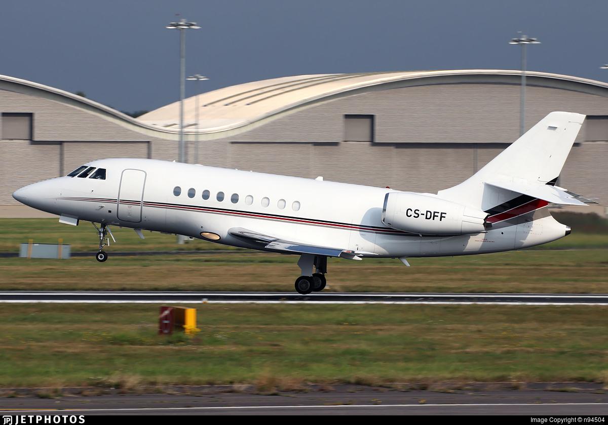 CS-DFF - Dassault Falcon 2000EX - NetJets Europe