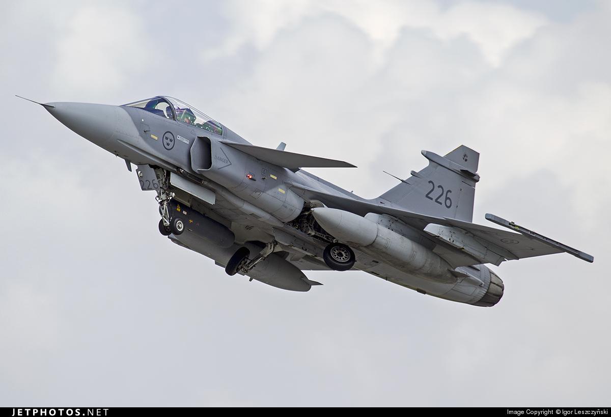 39226 - Saab JAS-39C Gripen - Sweden - Air Force