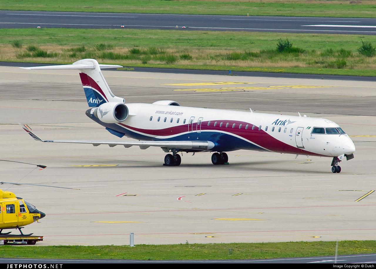 5N-JED - Bombardier CRJ-900 - Arik Air