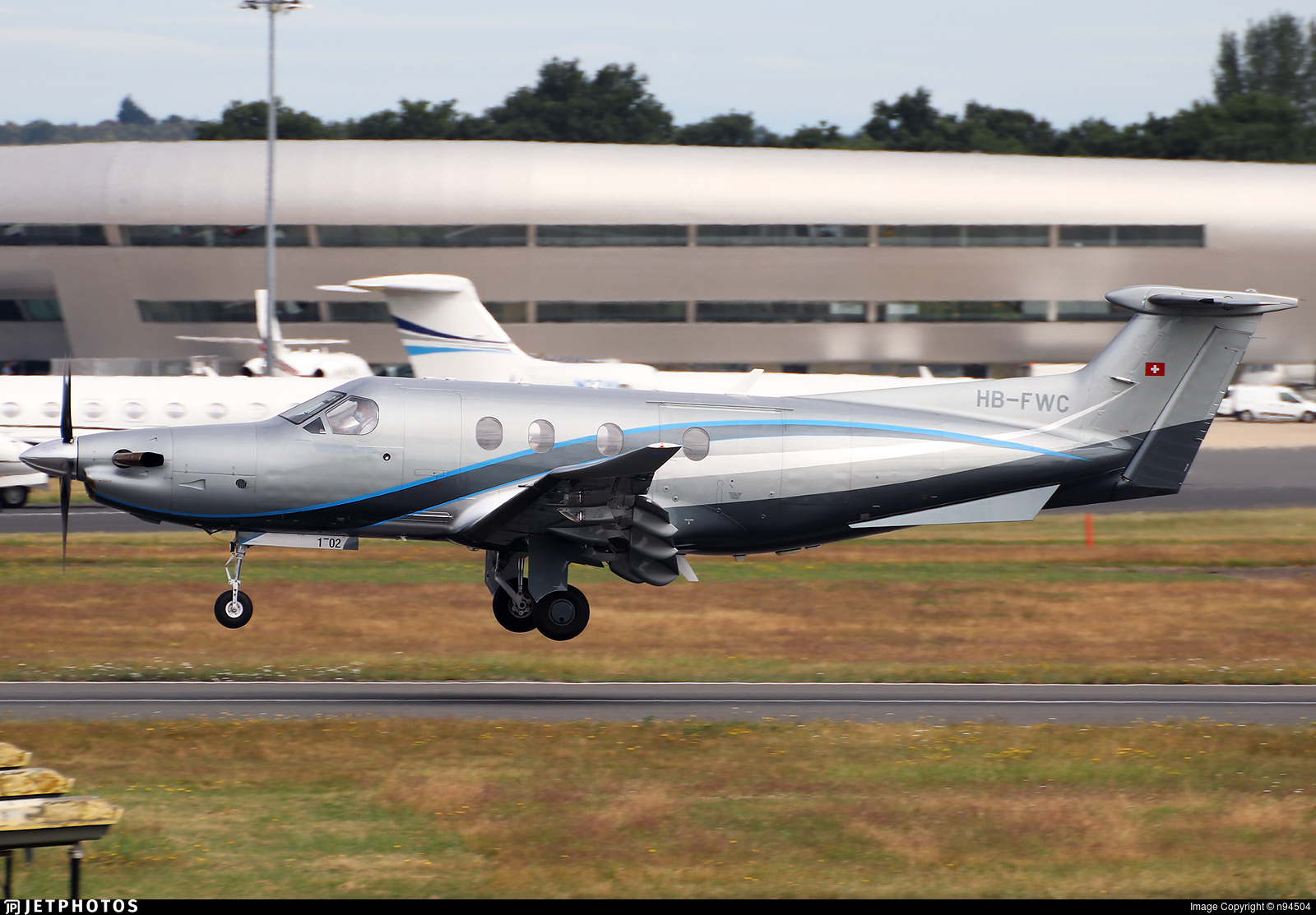 HB-FWC - Pilatus PC-12/47E - TAG Aviation