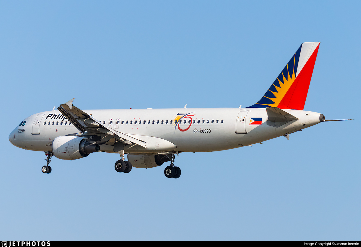 RP-C8393 - Airbus A320-214 - PAL Express
