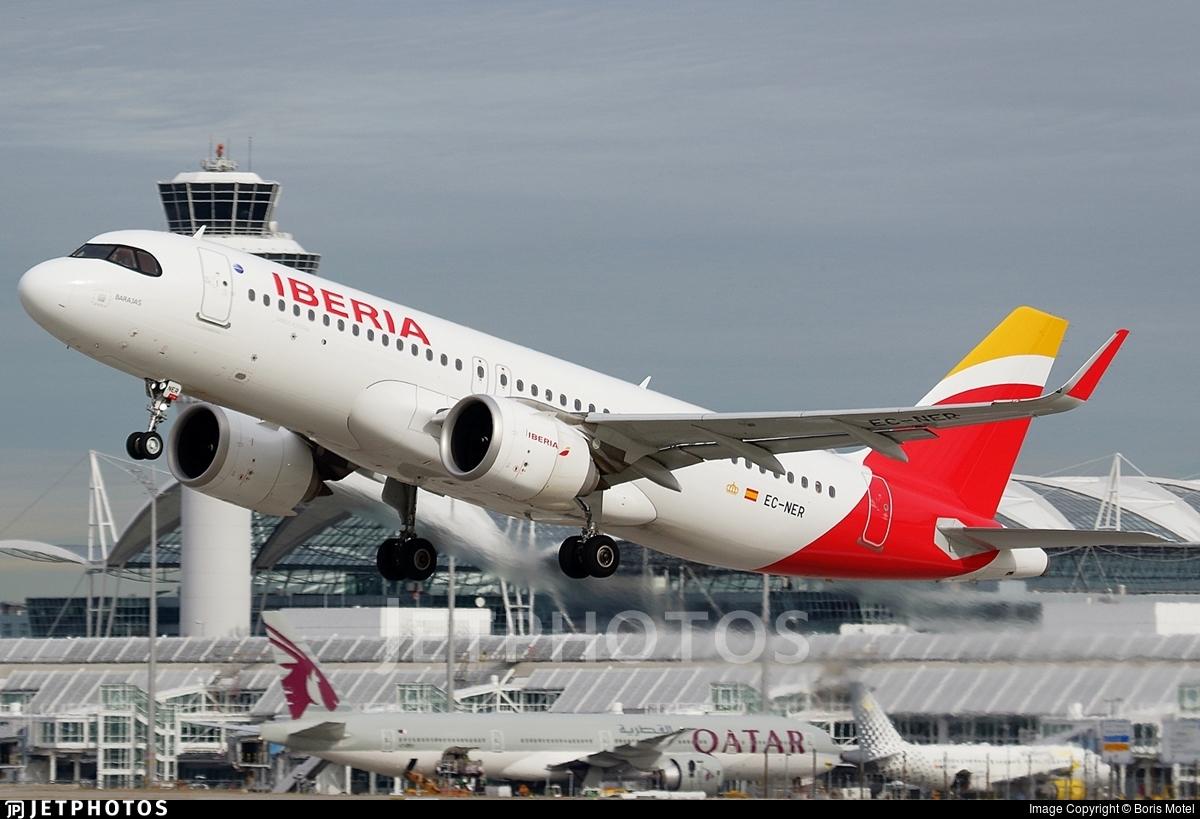 EC-NER - Airbus A320-251N - Iberia