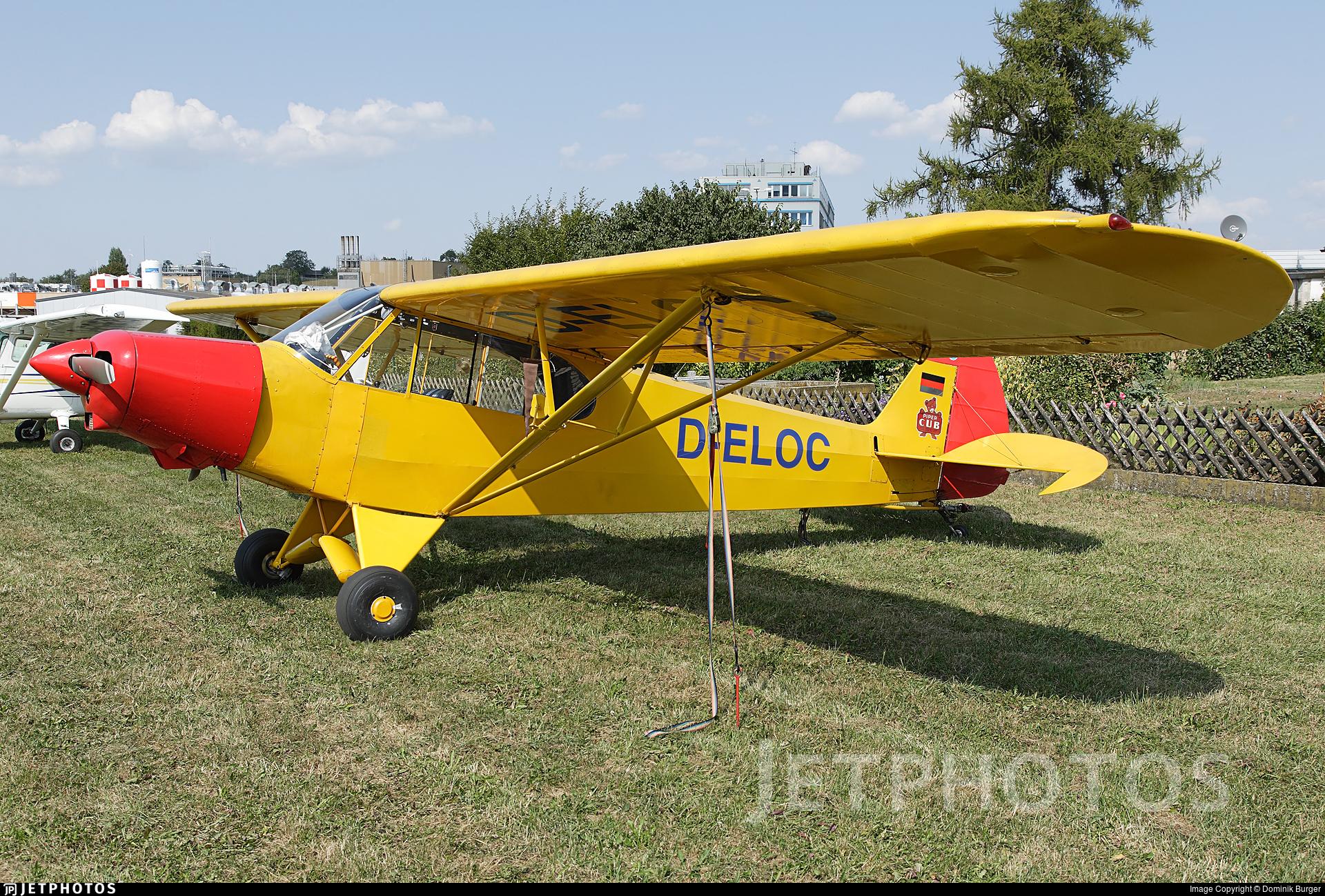 D-ELOC - Piper PA-18-150 Super Cub - Private