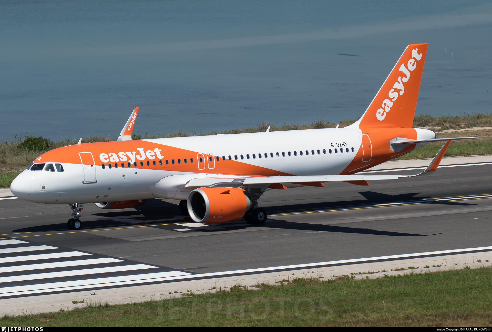 G-UZHX - Airbus A320-251N - easyJet