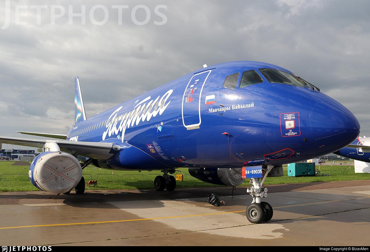 RA-89035 | Sukhoi Superjet 100-95LR | Yakutia Airlines