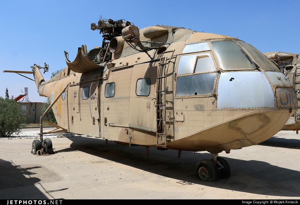 018 - Aérospatiale SA 321K Tsirah - Israel - Air Force