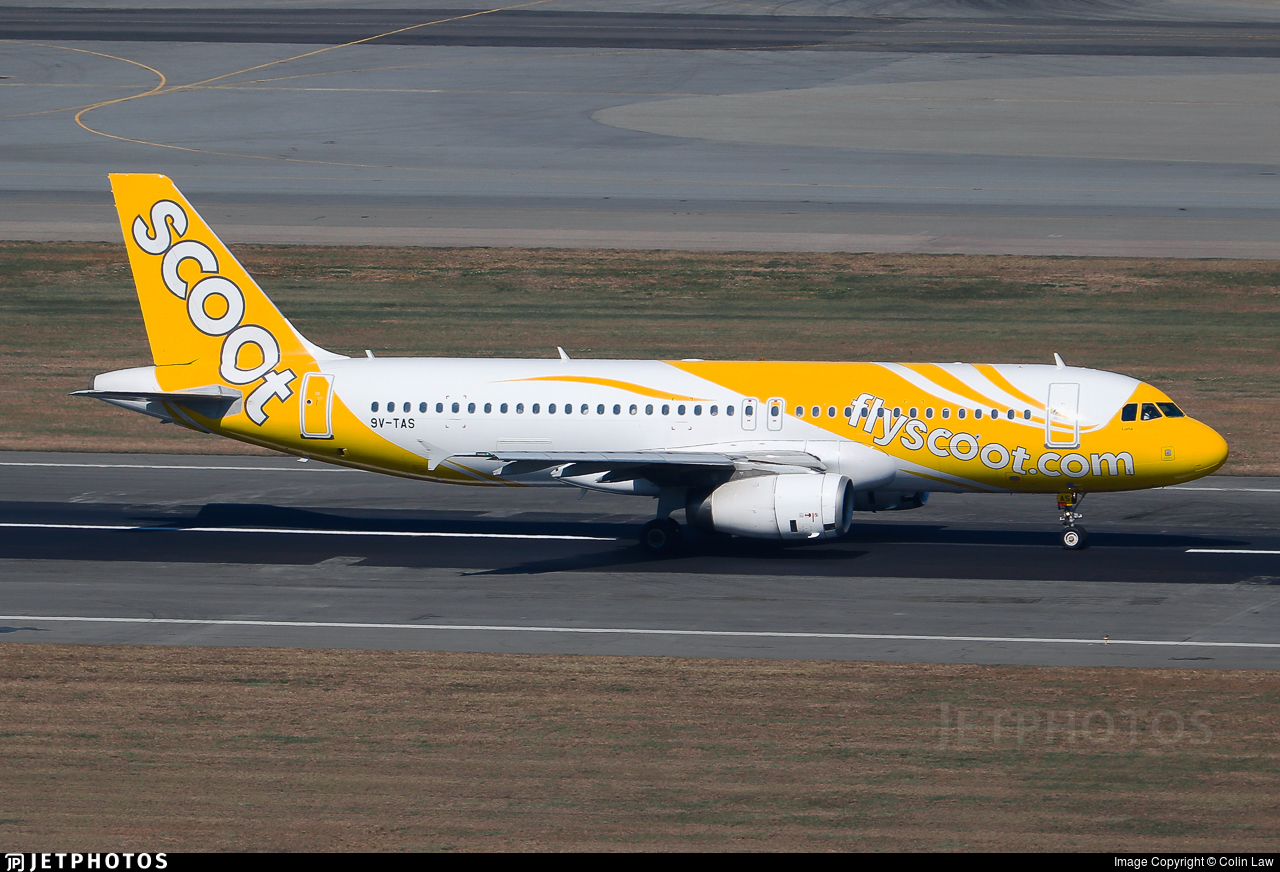 9V-TAS - Airbus A320-232 - Scoot
