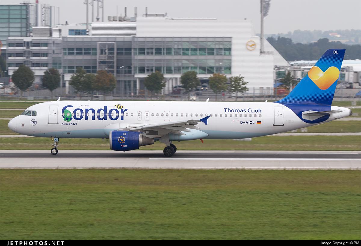 D-AICL - Airbus A320-212 - Condor
