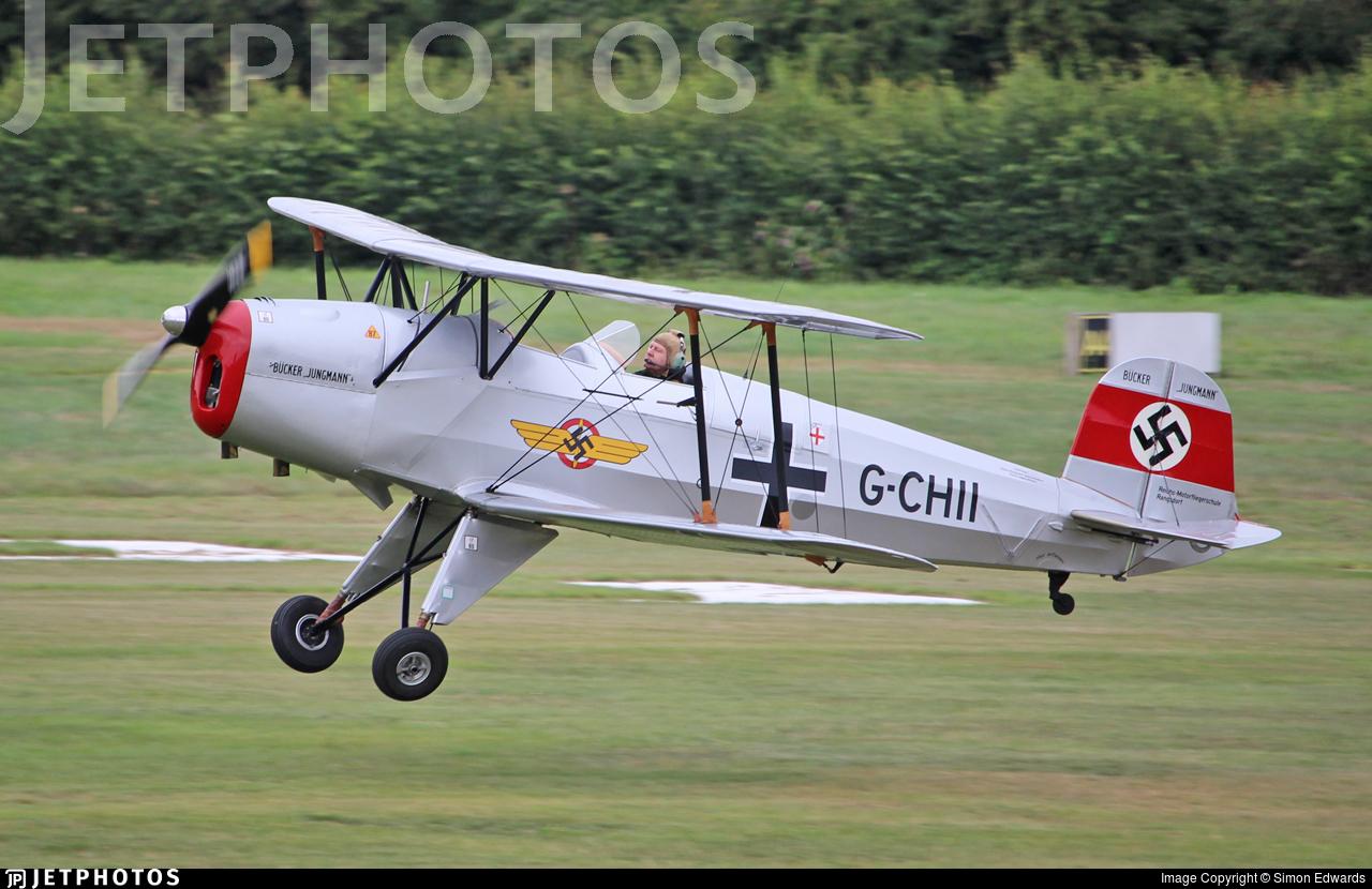G-CHII - CASA 1.131E Jungmann - Private