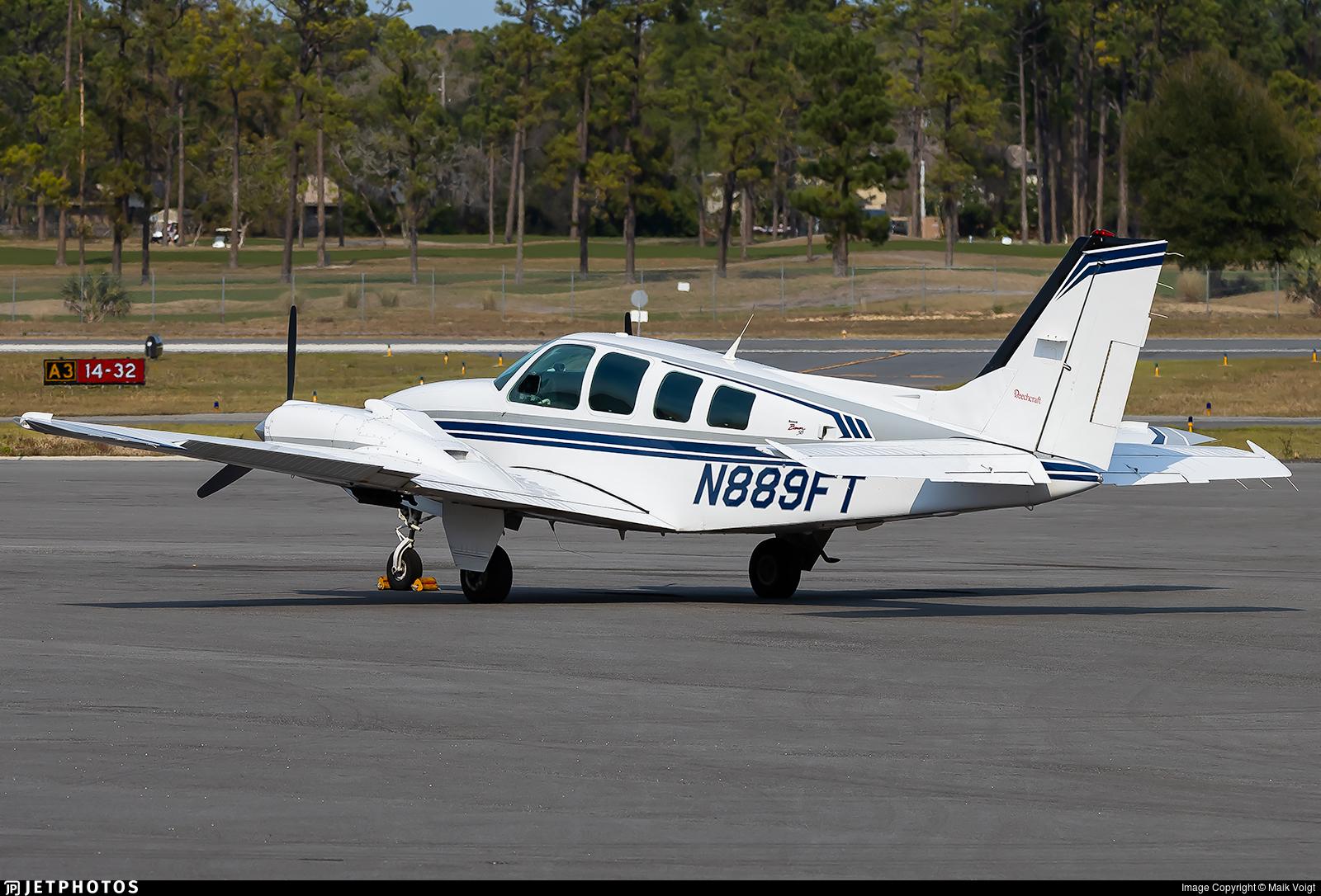 N889FT - Beechcraft 58 Baron - Private