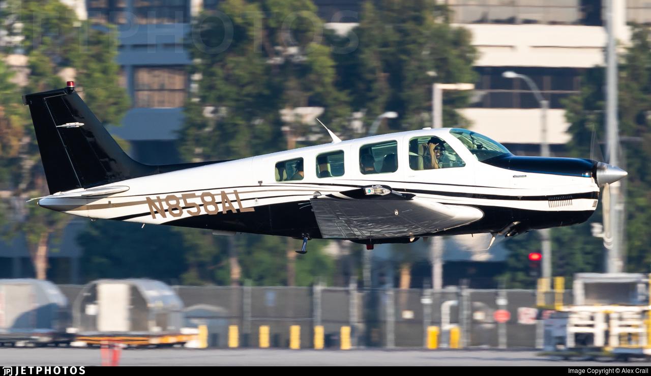 N858AL - Beech A36 Bonanza - Private