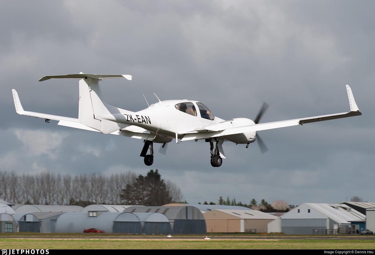 ZK-EAN - Diamond DA-42 Twin Star - Ardmore Flying School
