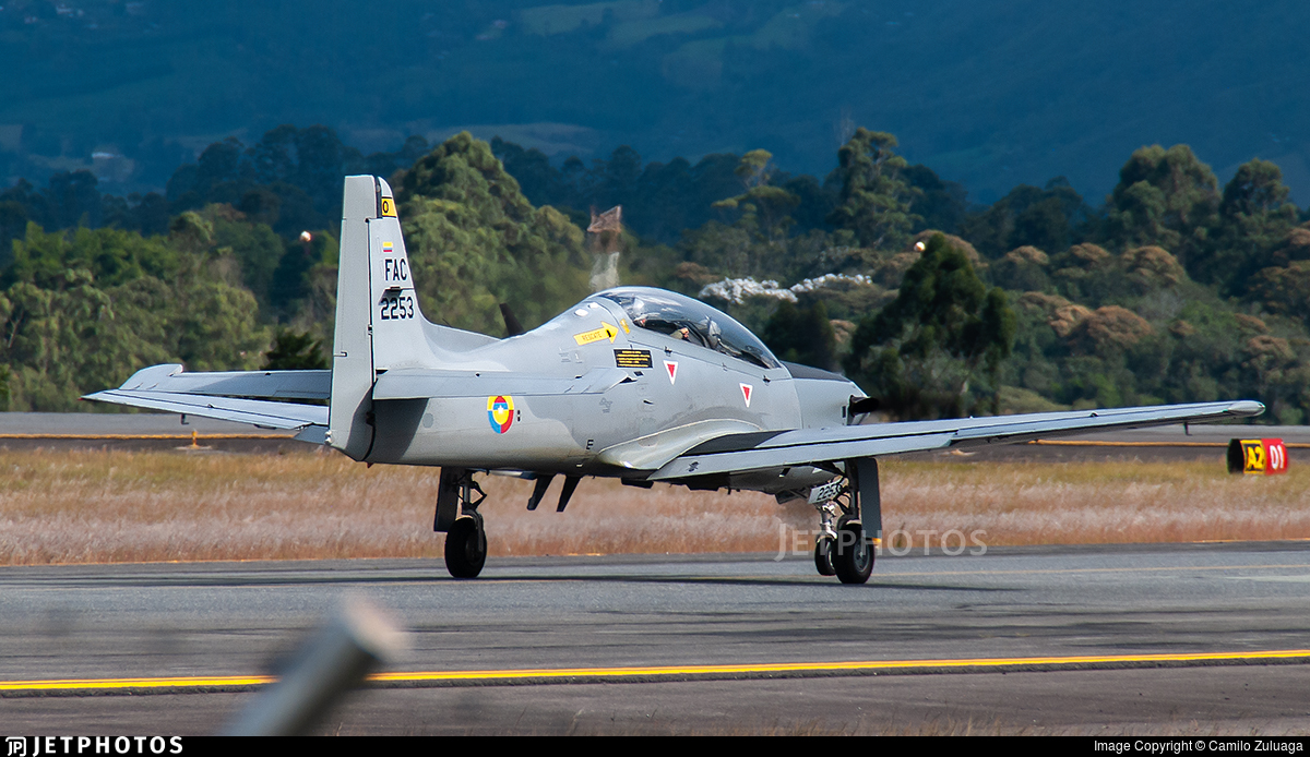 FAC2253 - Embraer T-27 Tucano - Colombia - Air Force