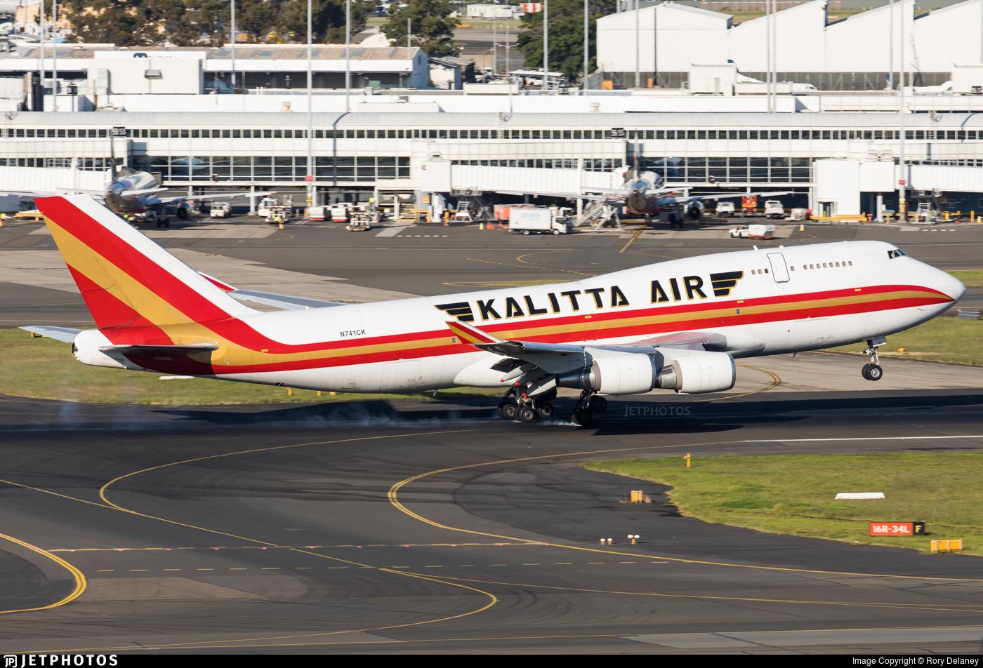 N741CK - Boeing 747-4H6(BCF) - Kalitta Air