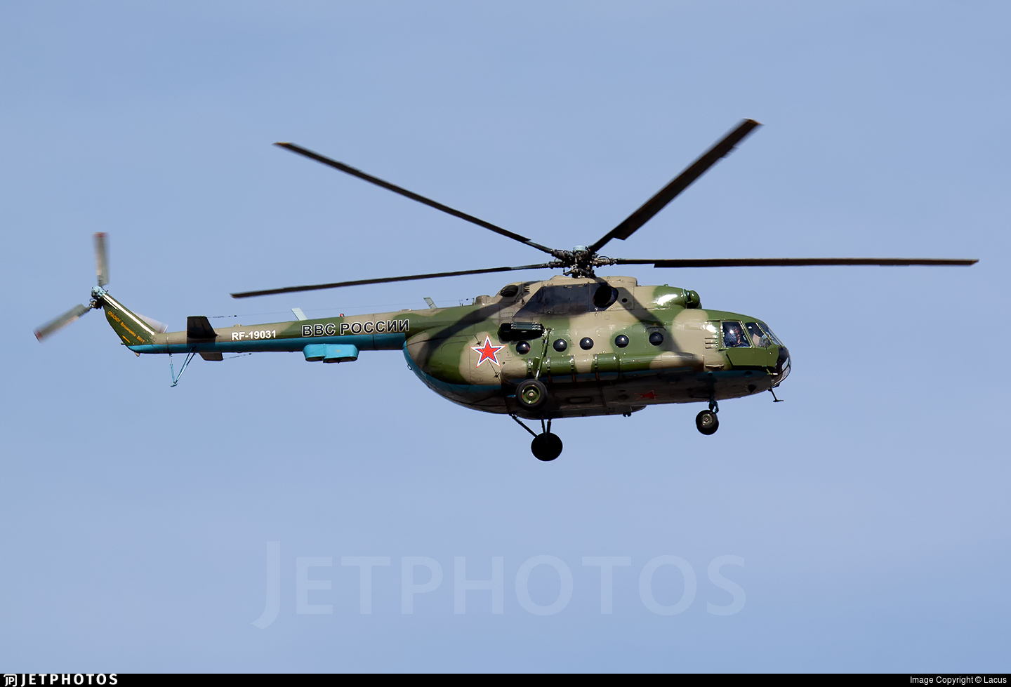 RF-19031 - Mil Mi-8MT Hip - Russia - Air Force
