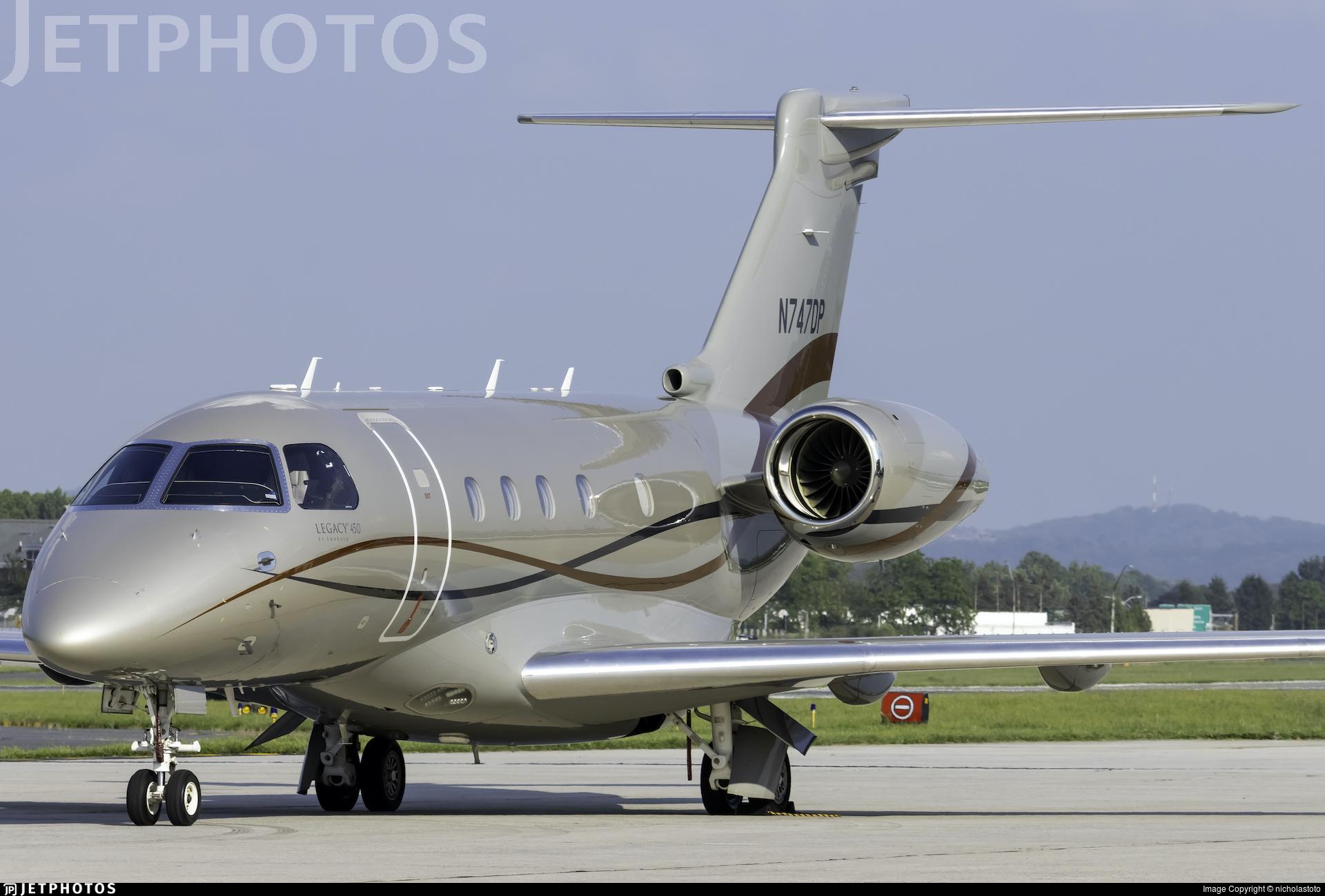 N747DP - Embraer EMB-545 Legacy 450  - Private