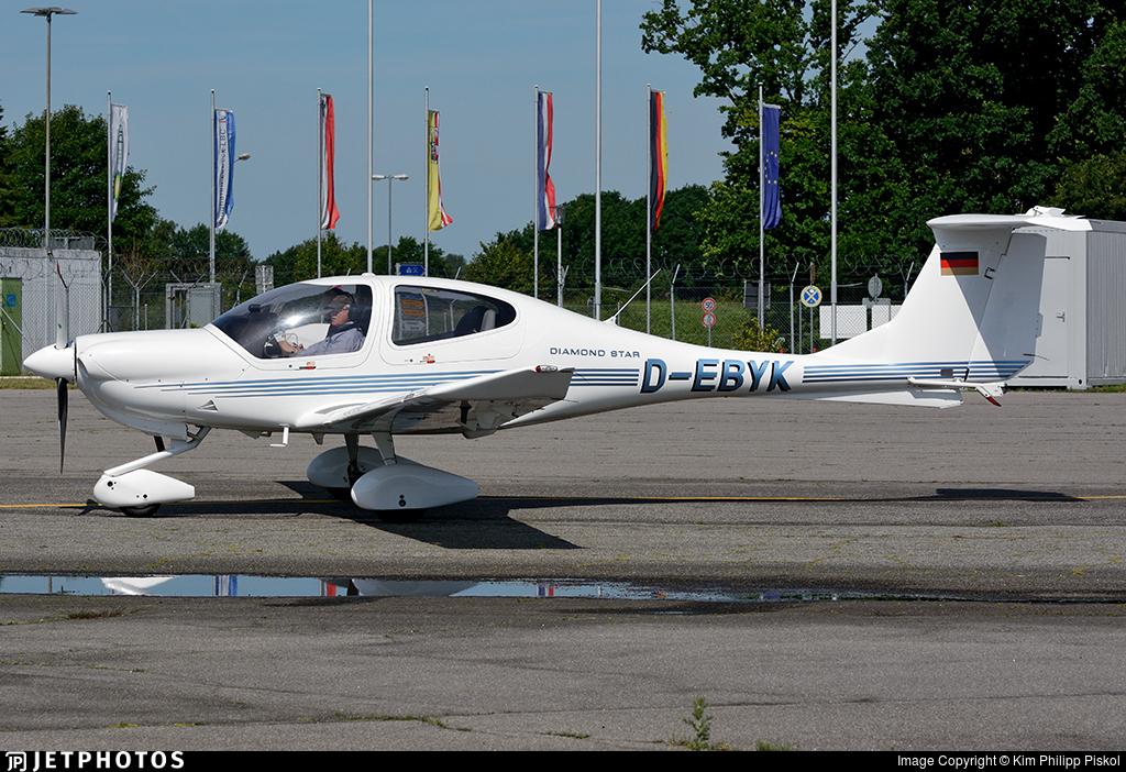 D-EBYK - Diamond DA-40 Diamond Star - Private