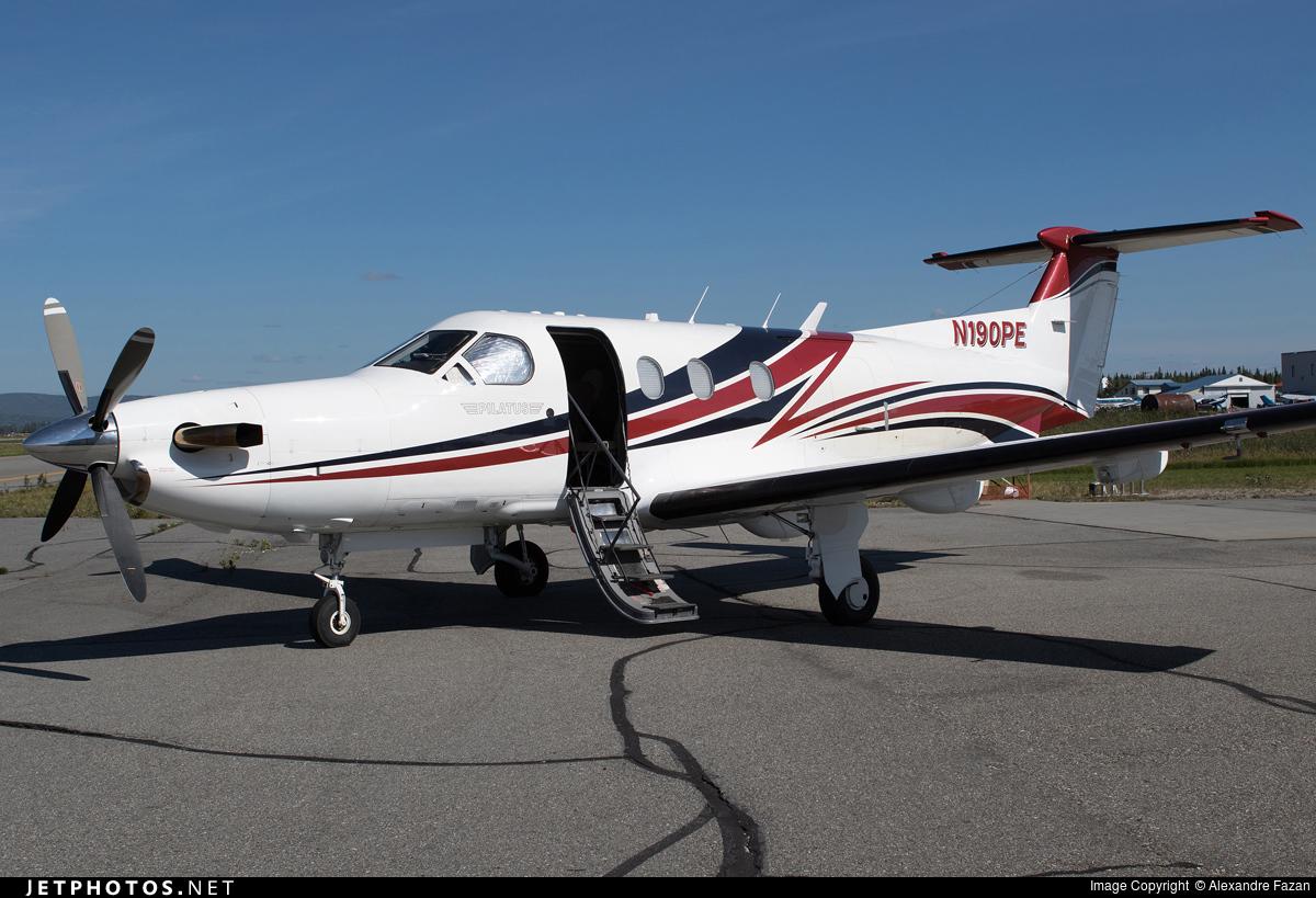 N190PE   Pilatus PC 12/45   United States   Department Of Interior