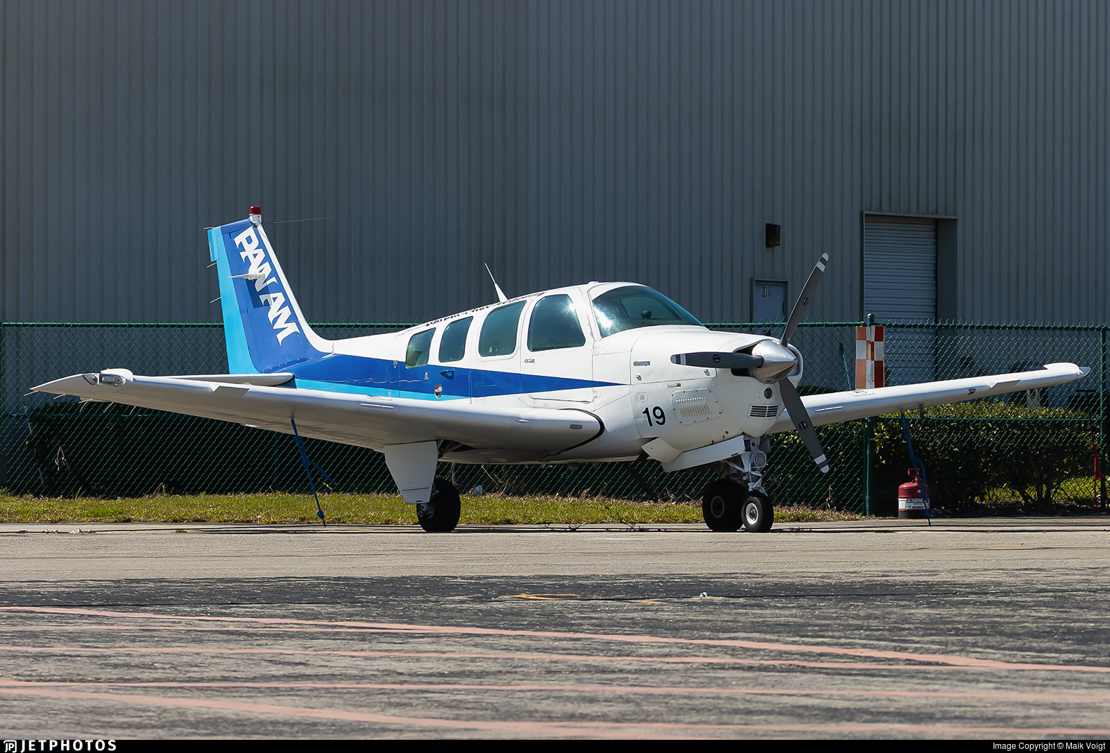 N819LA - Beechcraft A36 Bonanza - Pan Am International Flight Academy