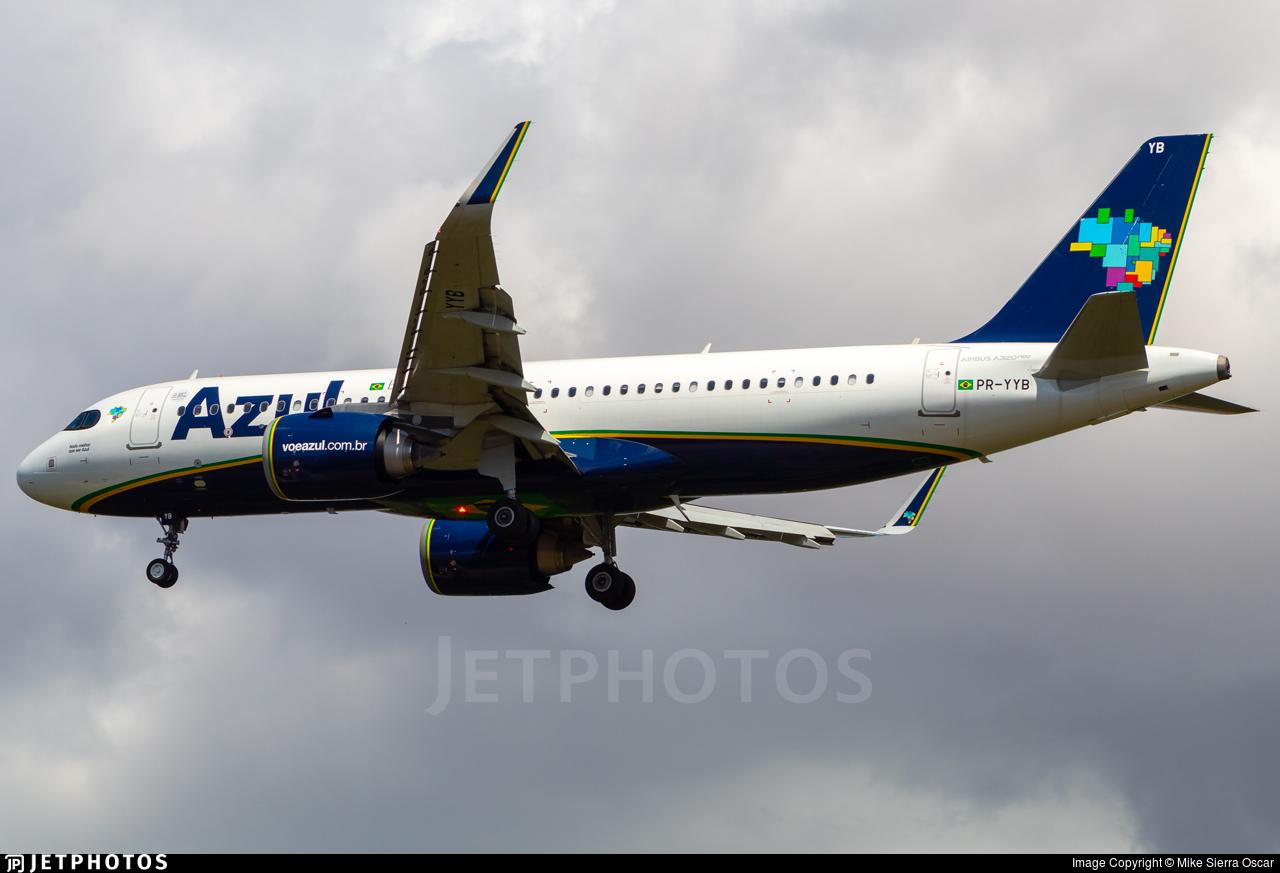 PR-YYB - Airbus A320-251N - Azul Linhas Aéreas Brasileiras