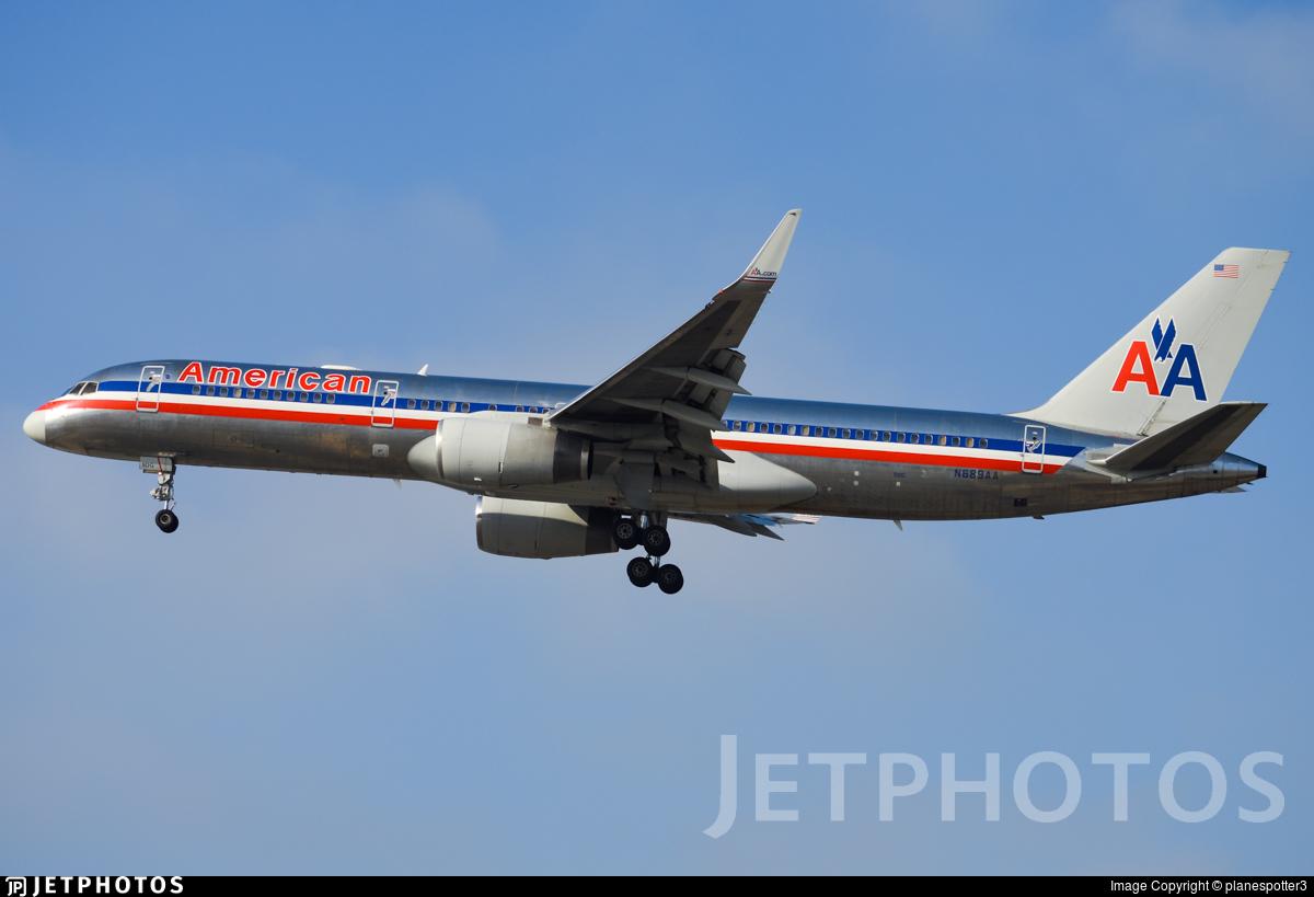 N689AA - Boeing 757-223 - American Airlines
