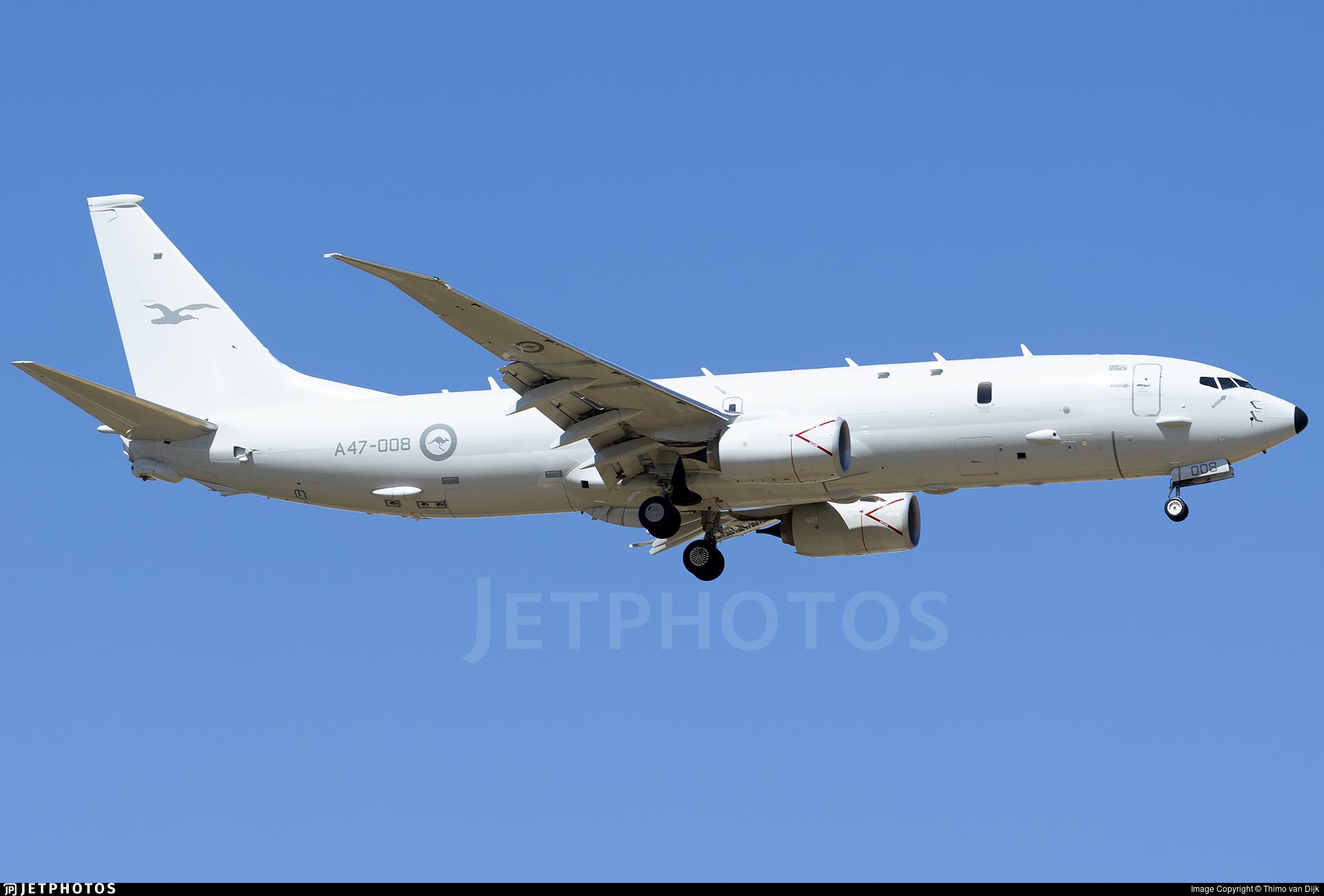 A47-008 - Boeing P-8A Poseidon - Australia - Royal Australian Air Force (RAAF)