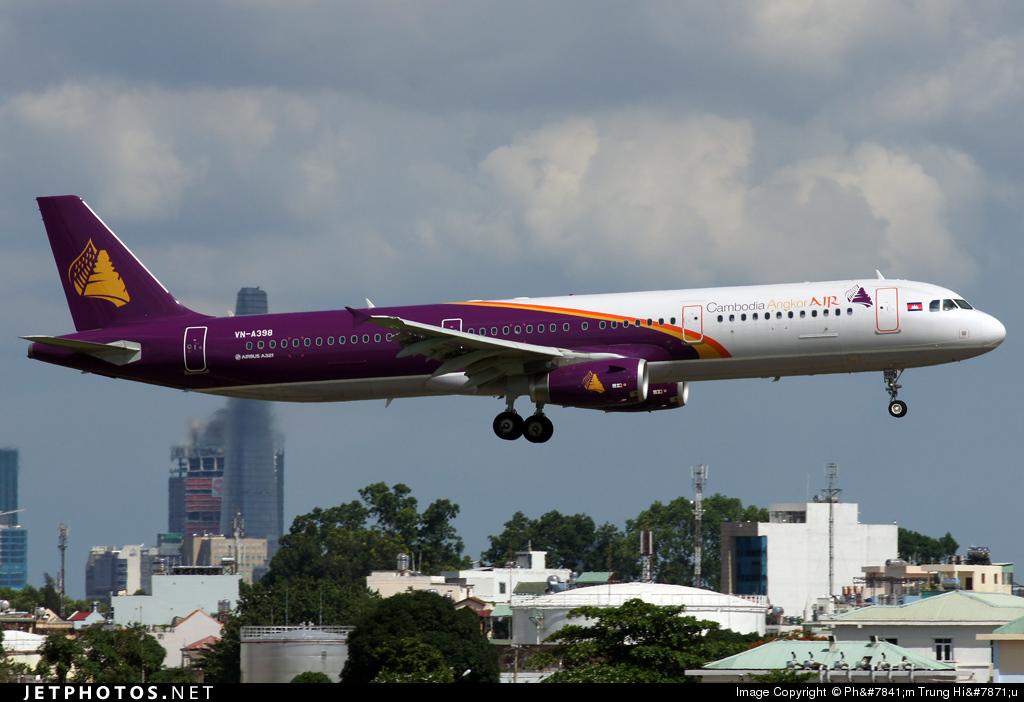 VN-A398 - Airbus A321-231 - Cambodia Angkor Air