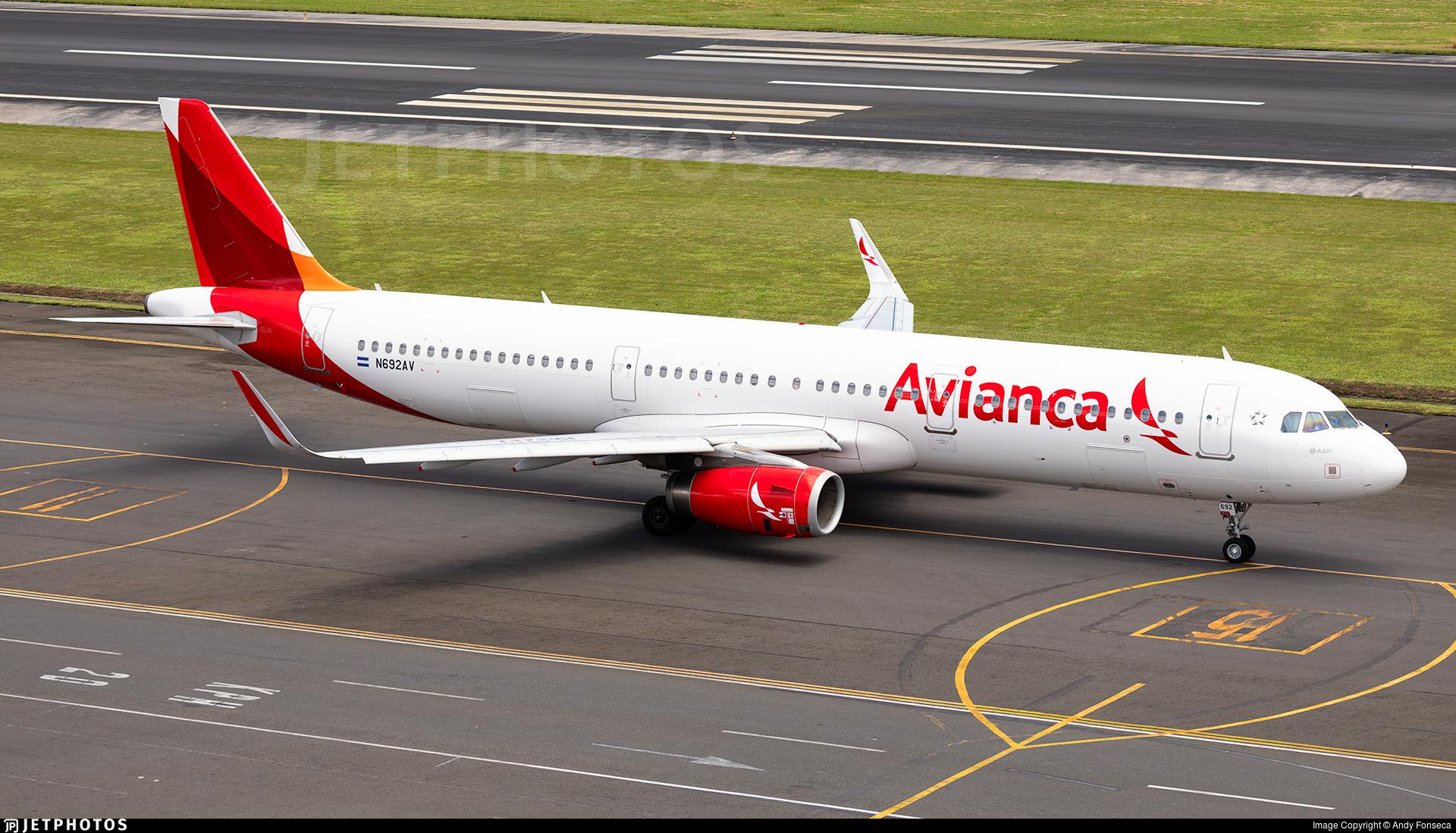 N692AV - Airbus A321-231 - Avianca Central America