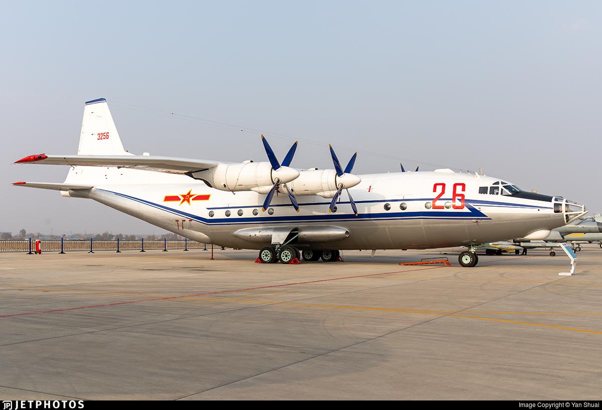 3256 - Shaanxi Y-8C - China - Air Force