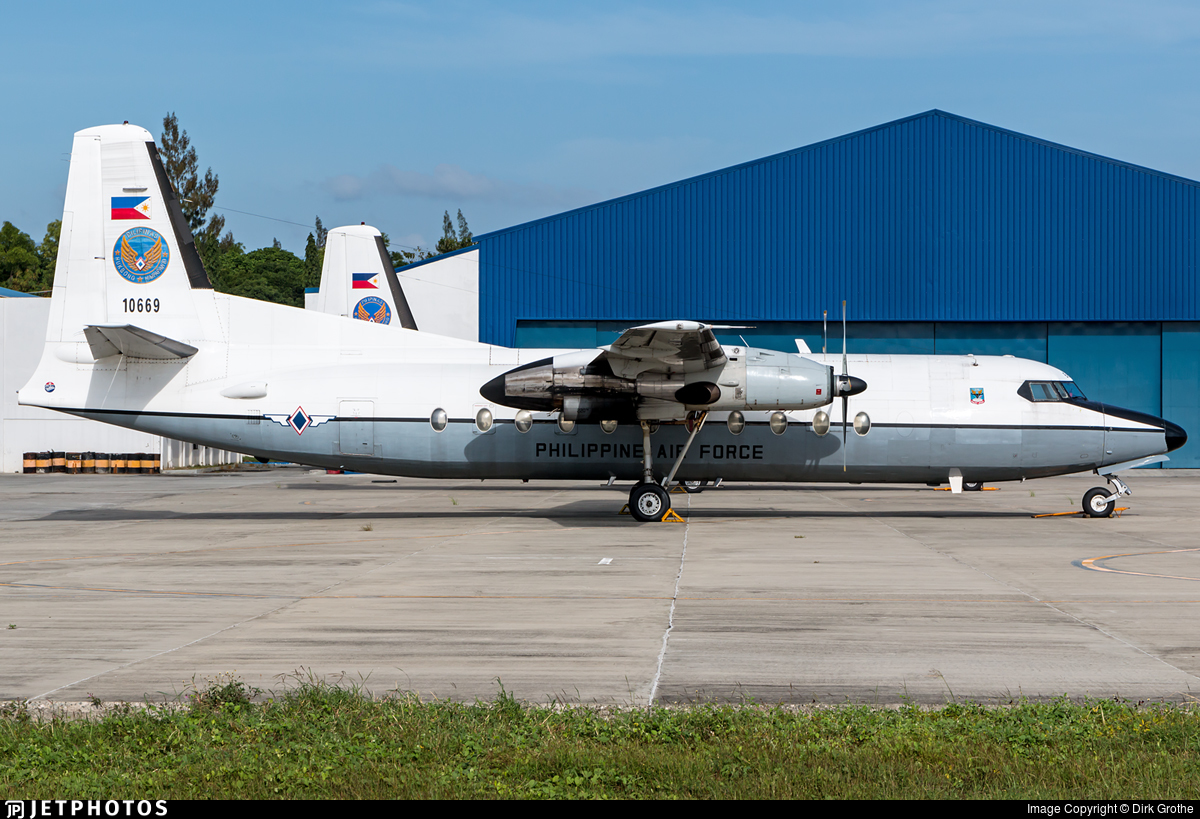 10669 - Fokker F27-500 Friendship - Philippines - Air Force